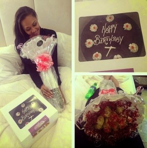 Still Strong Together Wizkid Surprises Girlfriend Tania Omotayo